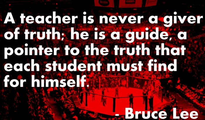 bruce lee teacher